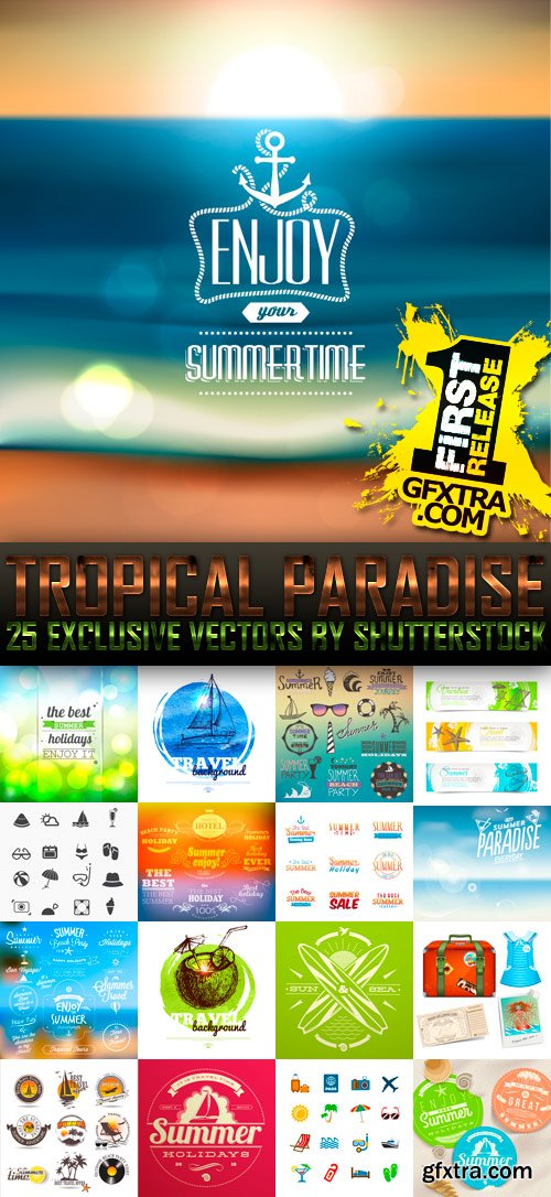 Amazing SS - Tropical Paradise (vol.4), 25xEPS