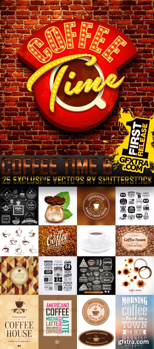 Amazing SS - Coffee Time 6, 25xEPS