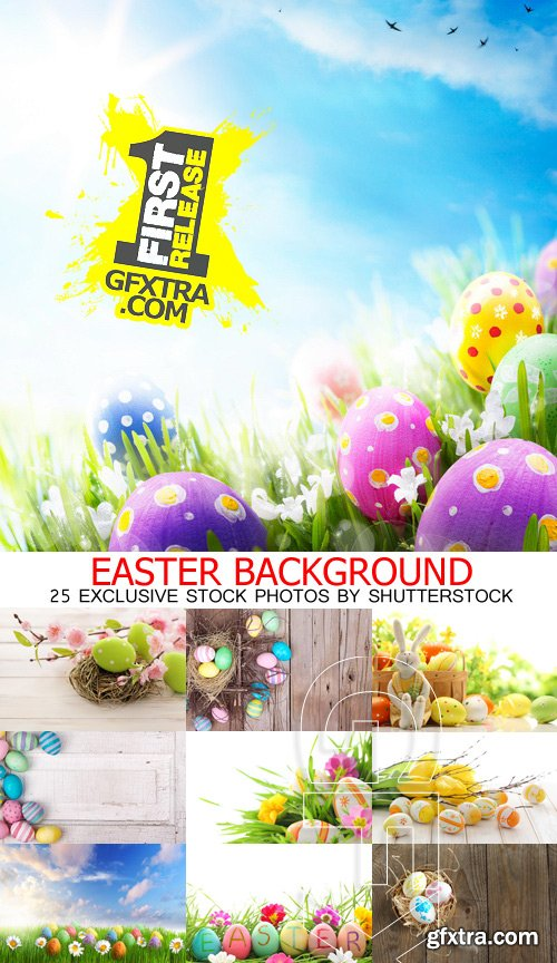 Amazing SS - Easter background, 25xJPGs