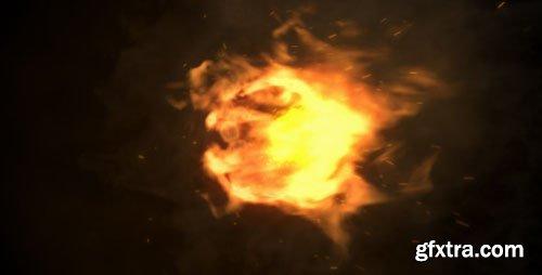 GraphicRiver - Fire Logo Reveal 4803849