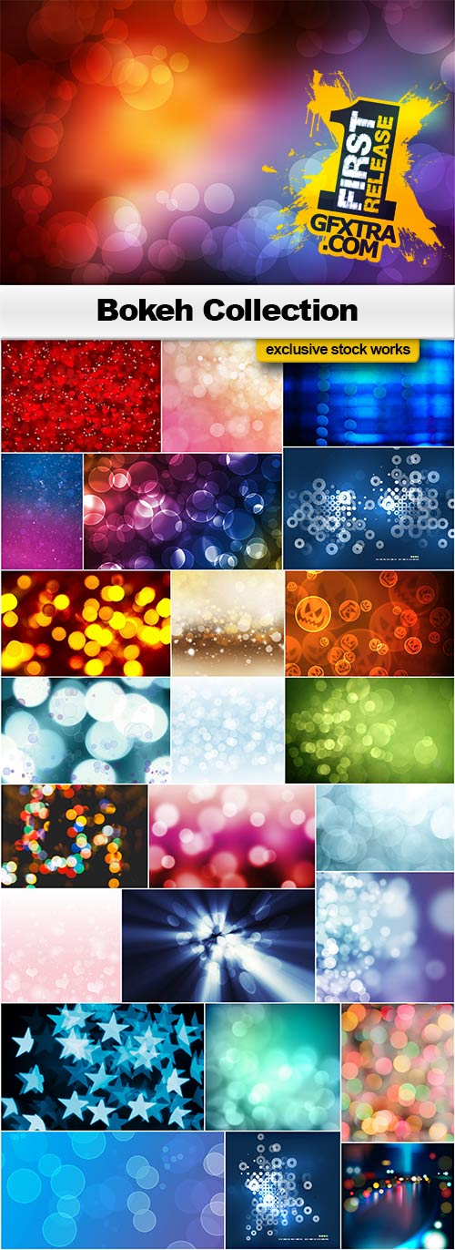 Bokeh Collection - 25x JPEGs