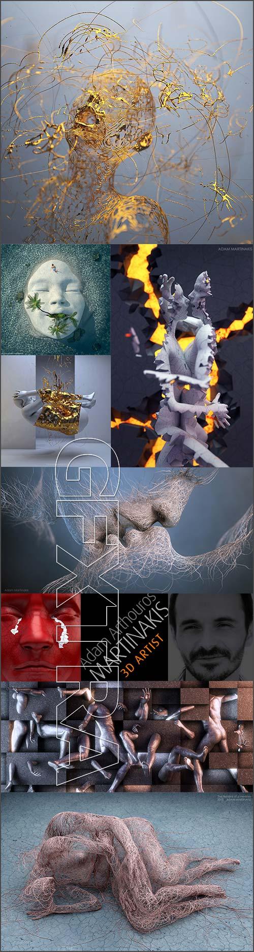Adam Arthouros Martinakis [3D Artist]