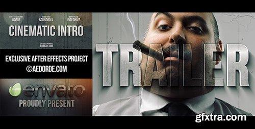 Videohive Cinematic Intro / Action Movie Trailer 6330513