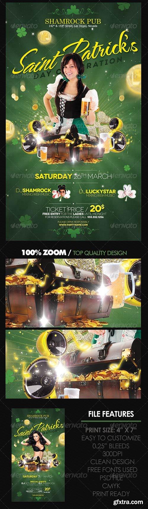 GraphicRiver - St. Patricks Flyer 3951723