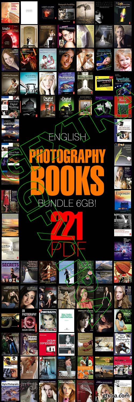 English Photography 221 Books Bundle 6 GB!