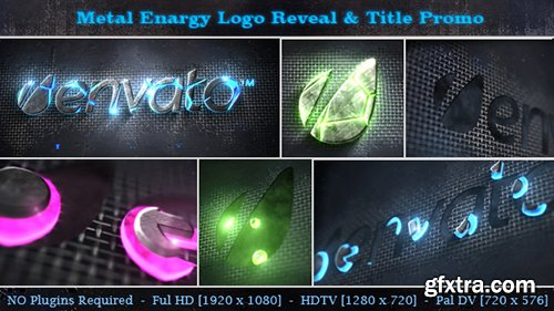 Videohive Metal Energy Logo Reveal & Title Promo
