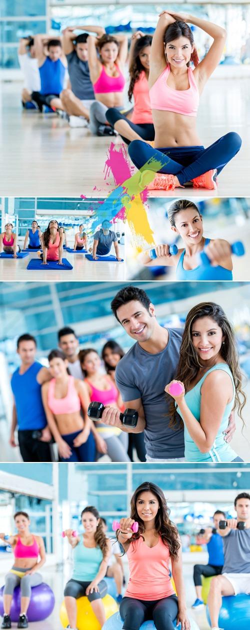 Stock Photo - Fitness Training