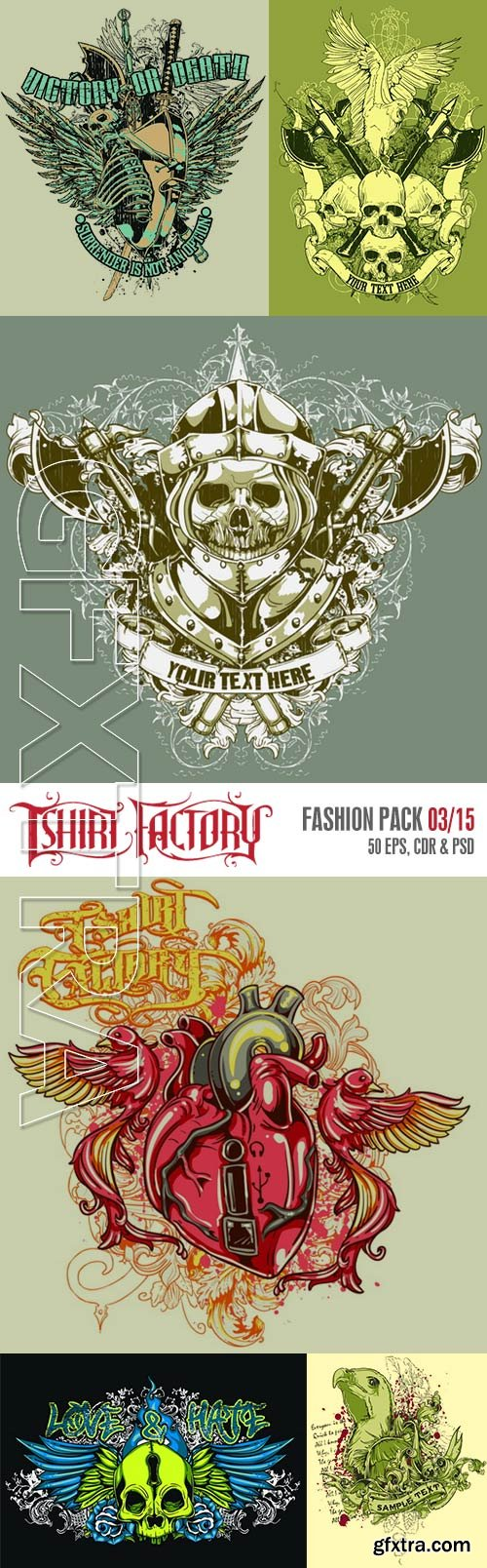 T-Shirt Factory - Fashion Pack 03/15