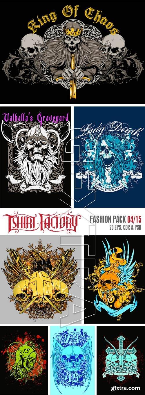 T-Shirt Factory - Fashion Pack 04/15