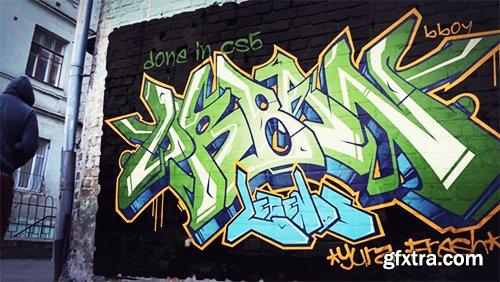 VideoHive - Spray Your Graffiti