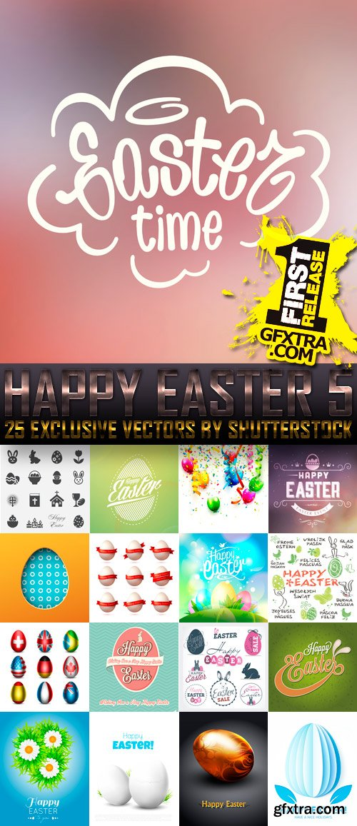 Amazing SS - Happy Easter 5, 25xEPS