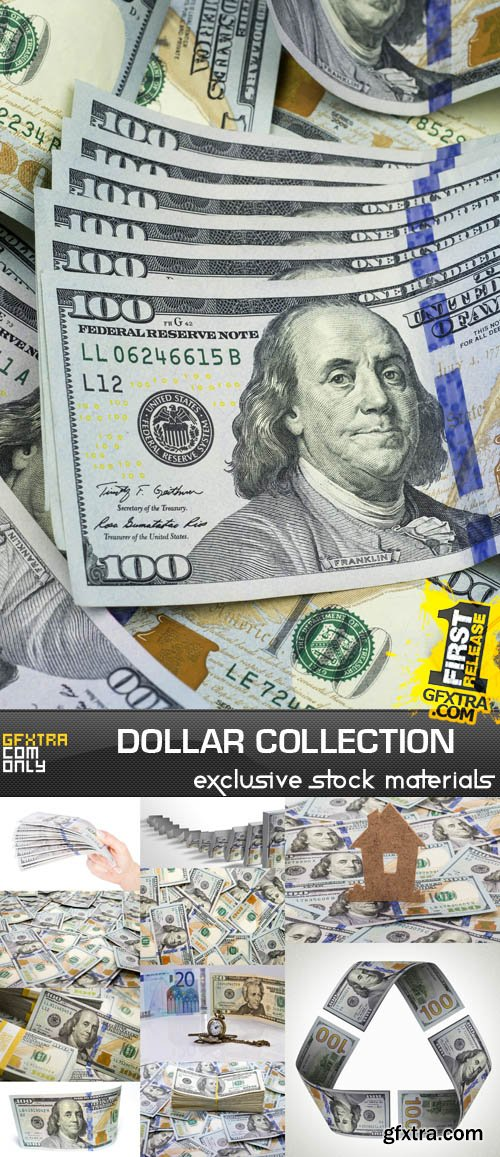 Dollar Collection, 25xUHQ JPEG