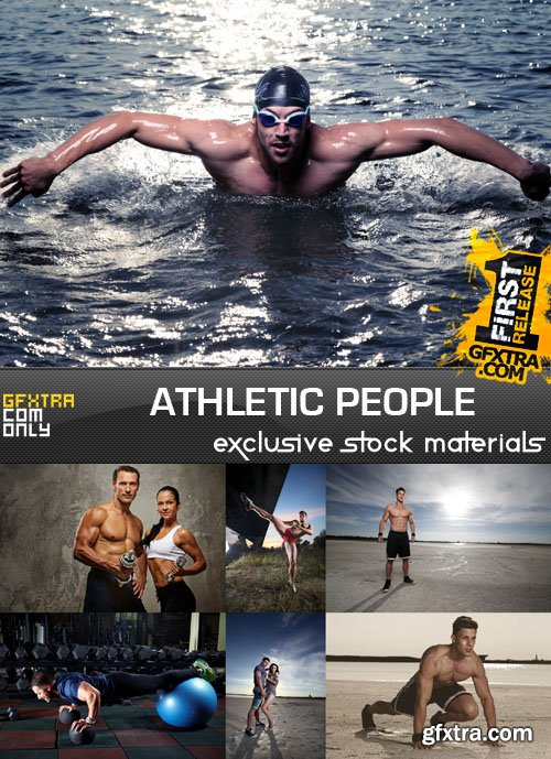 Athletic People, 25xUHQ JPEG