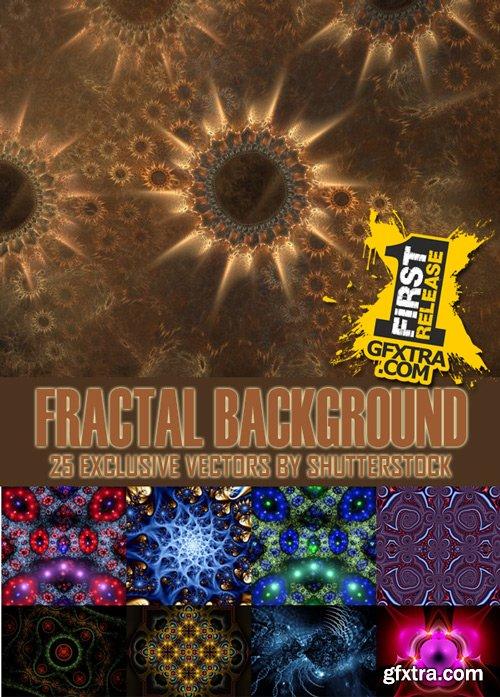 Shutterstock - Fractal background