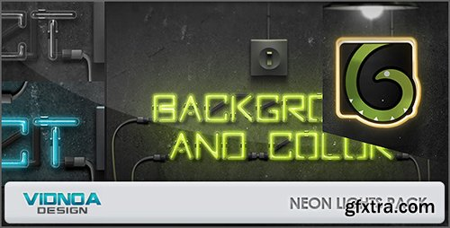 VideoHive Neon Lights Pack 6474624