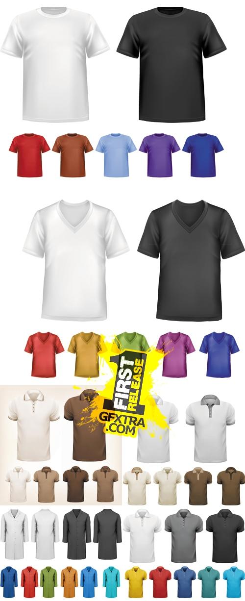 T-shirt & Coat Fashion Design Vector