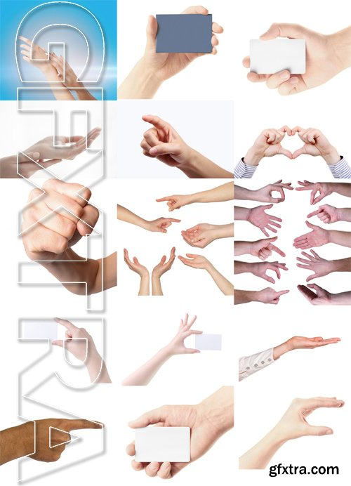 Shutterstock - Hands