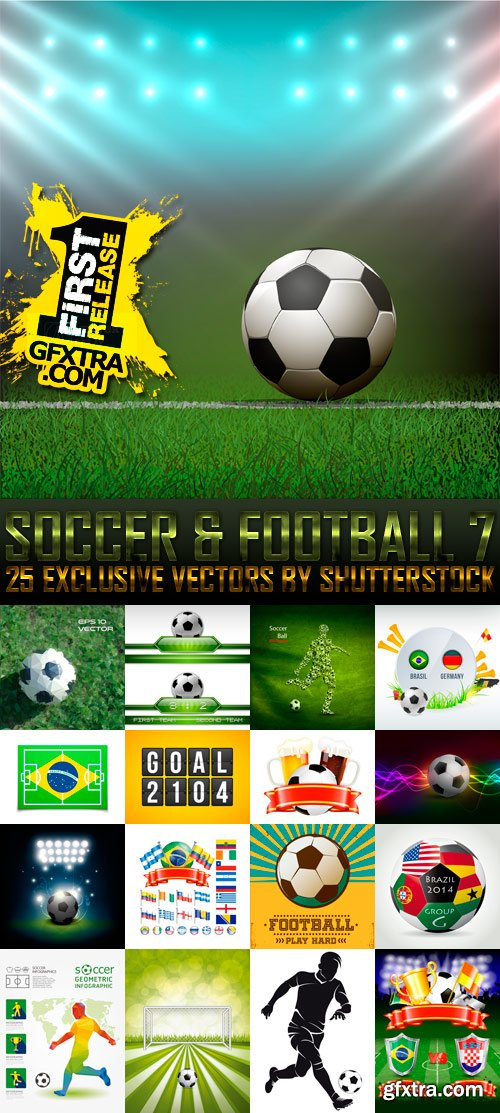 Amazing SS - Soccer & Football 7, 25xEPS