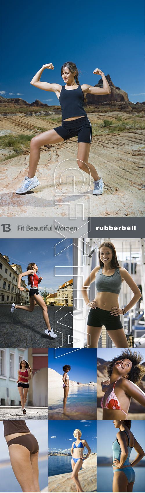 RubberBall 013 Fit Beautiful Women