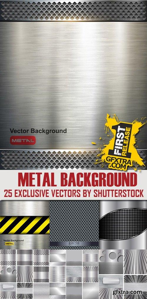 Shutterstock - Metal background, 25xEps