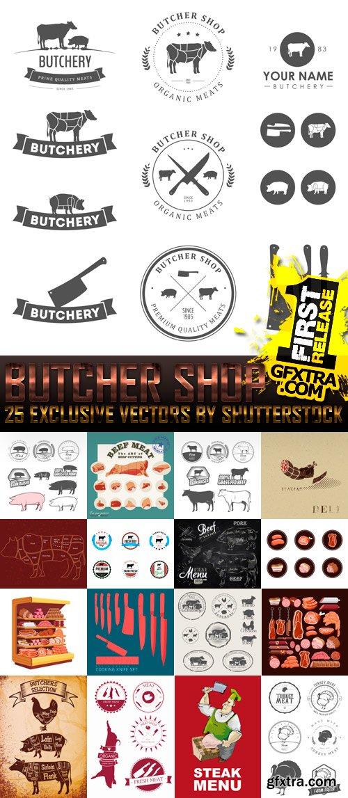 Amazing SS - Butcher Shop, 25xEPS