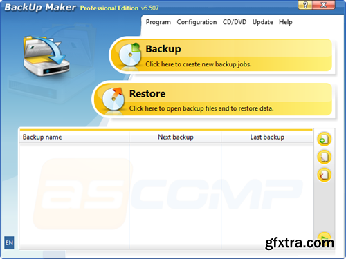ASCOMP Software Backup Maker Professional 6.507 Retail
