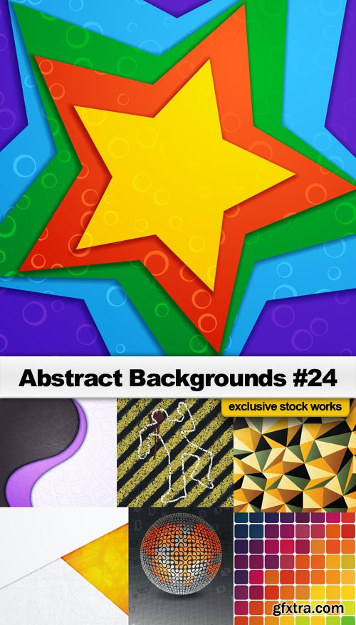 Abstract Backgrounds #24 - 25 EPS