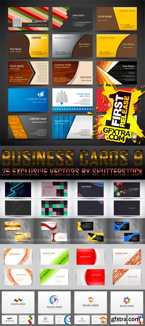Amazing SS - Business Cards 9, 25xEPS