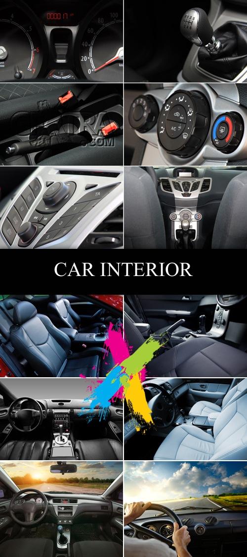 Stock Photo - Modern Car Interior