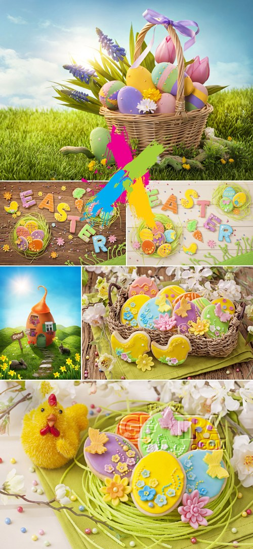 Stock Photo - Easter 2014 Cards