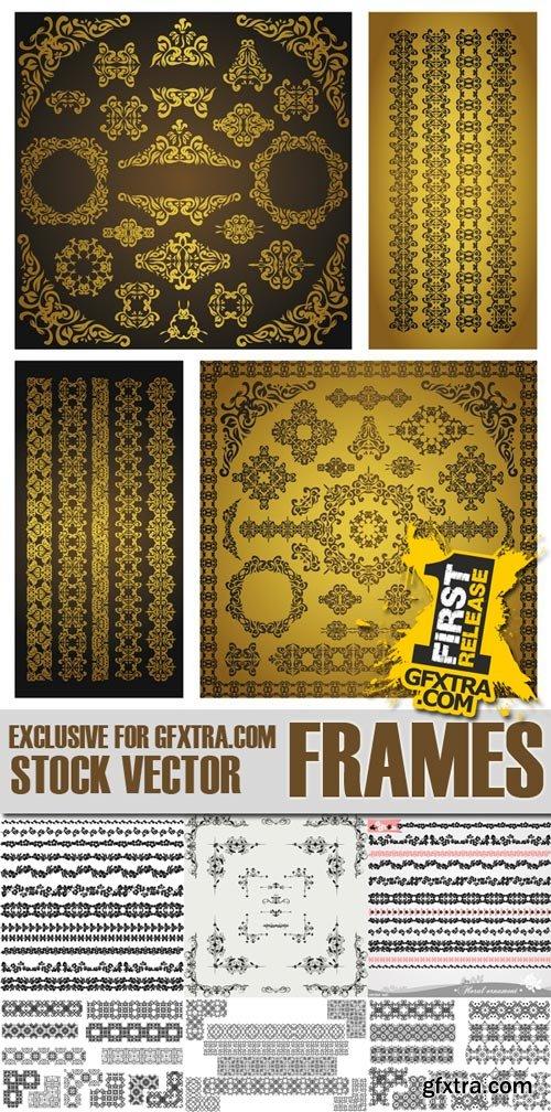 Shutterstock - Frames, 25xEps