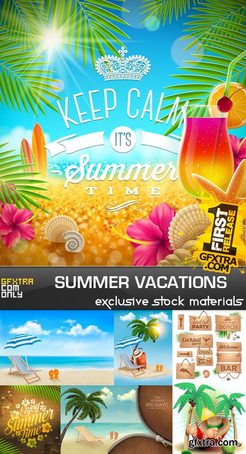 Summer Vacations, 25xEPS