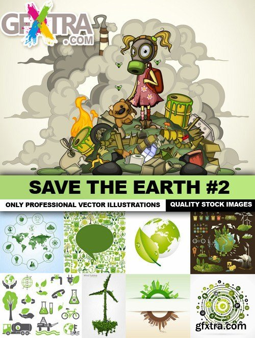 Save The Earth #2 - 25 Vector