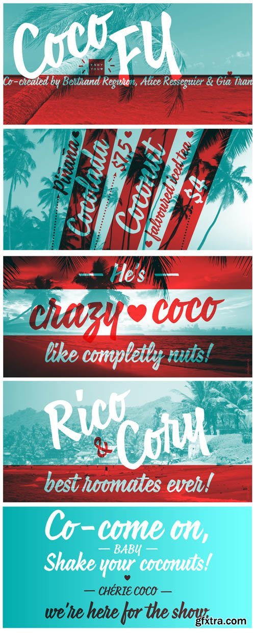 Coco FY - 1 Font for $35