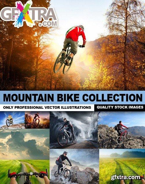 Mountain Bike Collection - 25 Vector