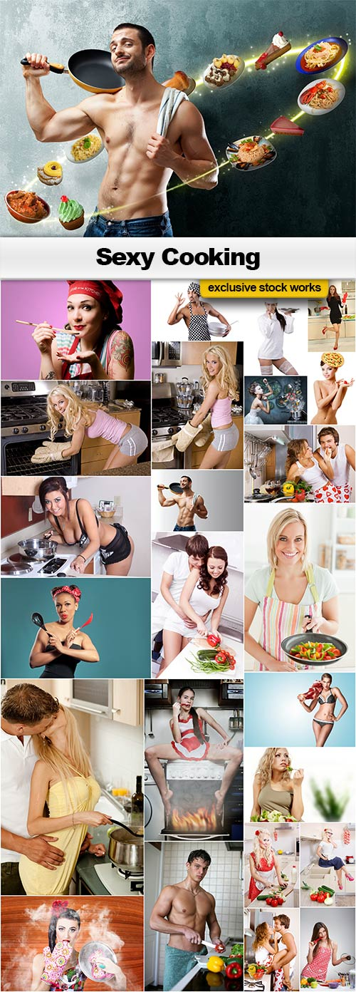 Sexy Cooking - 25x JPEGs