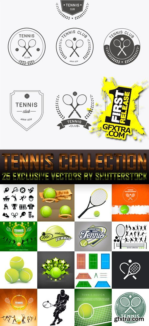 Amazing SS - Tennis Collection, 25xEPS