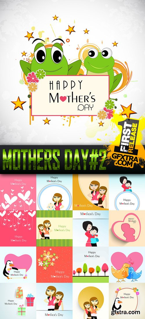 Mothers Day Vector Pack 2