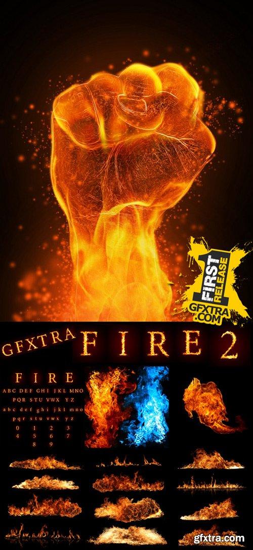 Stock Photos - Fire 2, 25xJpg