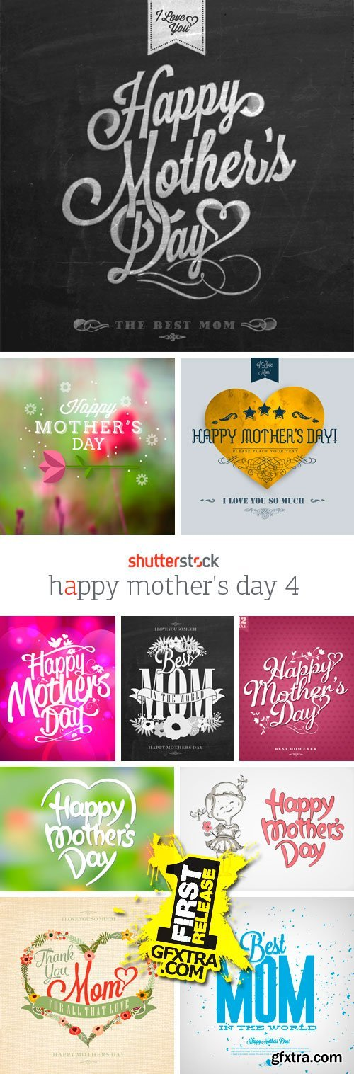 Amazing SS - Happy Mother's Day 4, 25xEPS
