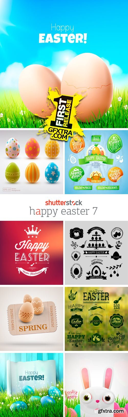 Amazing SS - Happy Easter 7, 25xEPS