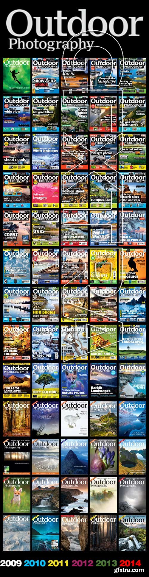 Outdoor Photography 2009-2014 All Volumes!