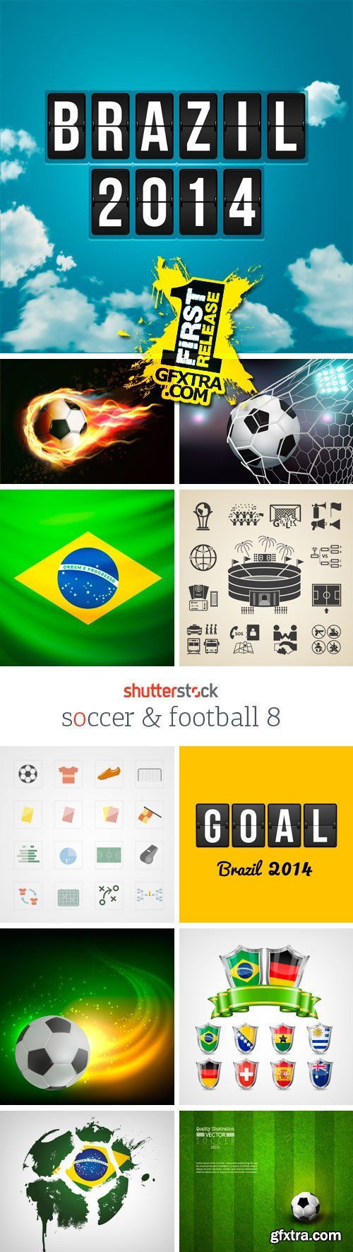 Amazing SS - Soccer & Football 8, 25xEPS