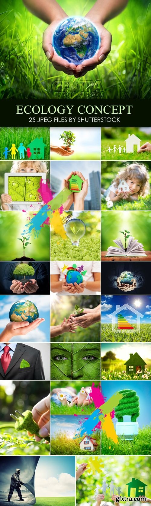 Stock Photo - Ecology Concept, Green Earth