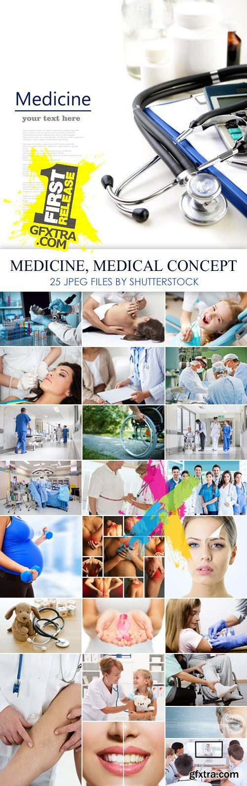 Stock Photo - Medicine, Medical Concept