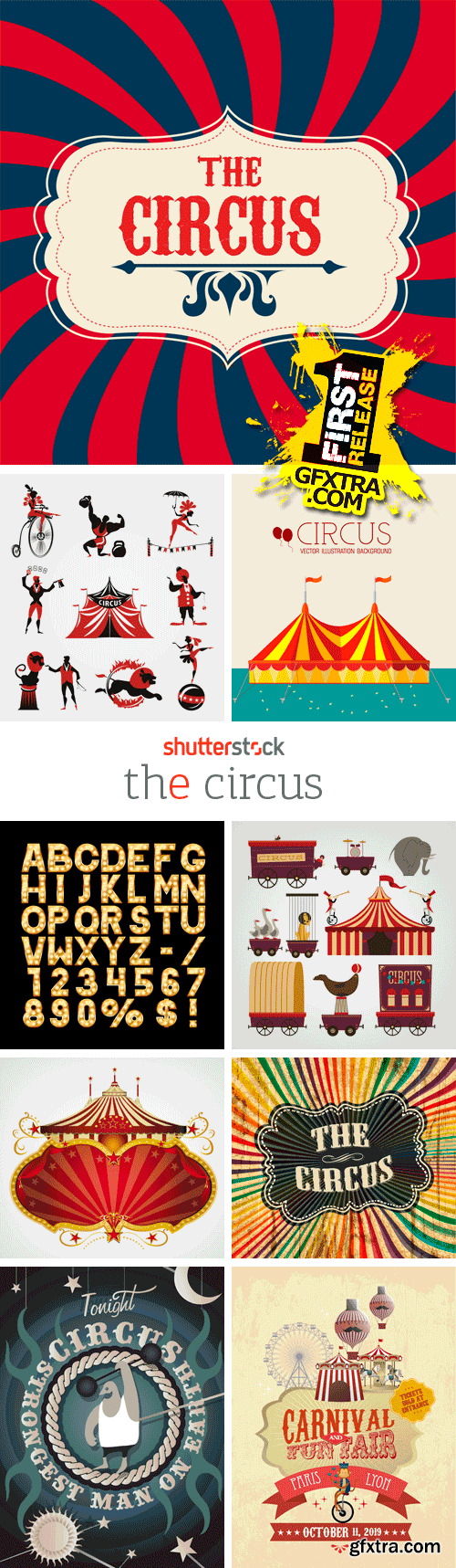 Amazing SS - The Circus, 25xEPS