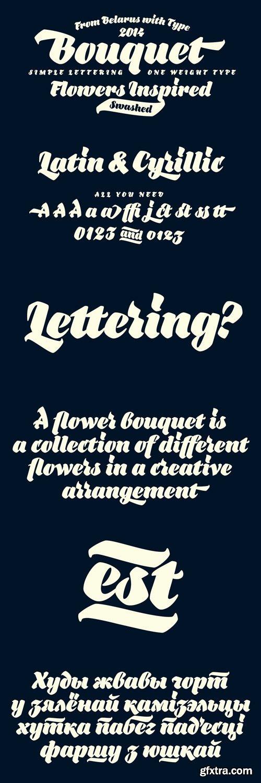 Bouquet Font for $39