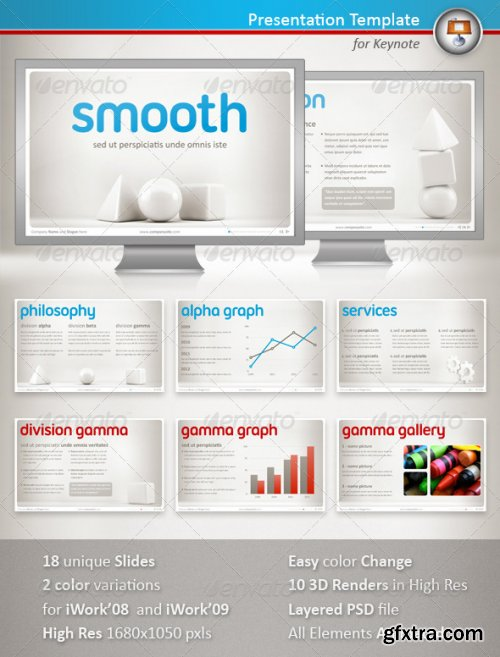 GraphicRiver - Smooth Keynote Presentation - 1213391