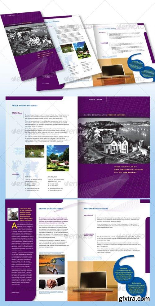 GraphicRiver - 4 Page Corporate Brochure A4 - 57958