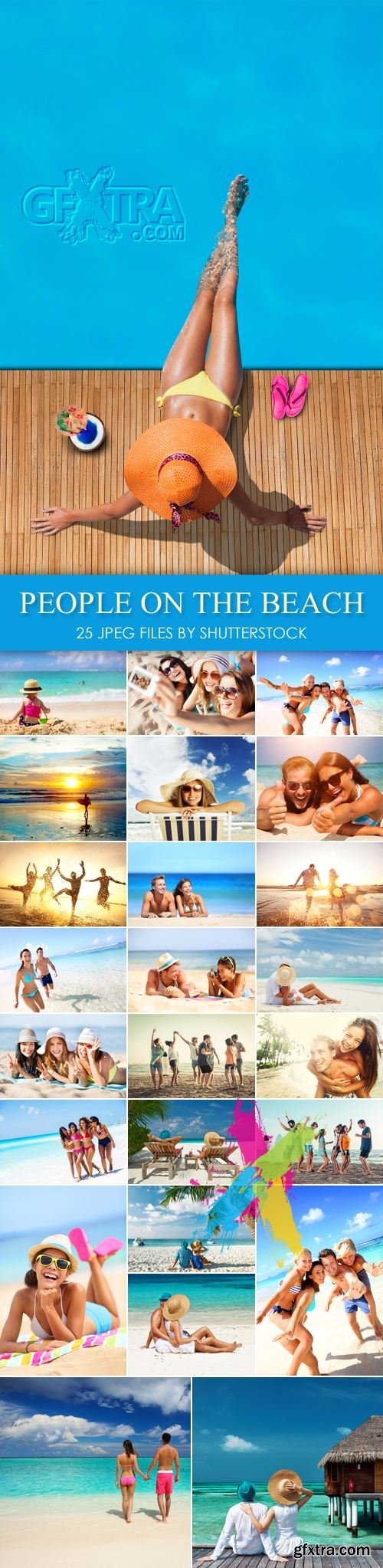 Stock Photo - People on the Beach